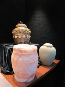 cremation urns and niches / San Gabriel Cemetery